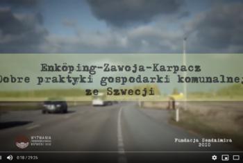 """Film pod tytułem. ,,Dobre praktyki gospodarki komunalnej ze Szwecji"""""""
