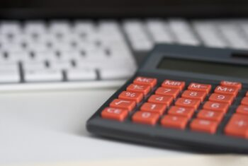 Kalkulator i klawiatura